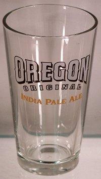 Oregon Original India Pale Ale Glassware - Set of Pint Glasses (Sam Boston Ale Adams)