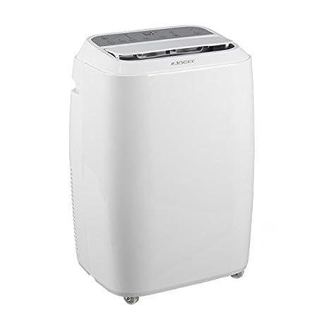 Jocel JACP12-030696 Aire Acondicionado Portátil, 3000 frigorias, 65 Decibeles, Plástico, 3 Velocidades, Blanco [Clase de eficiencia energética A]: ...