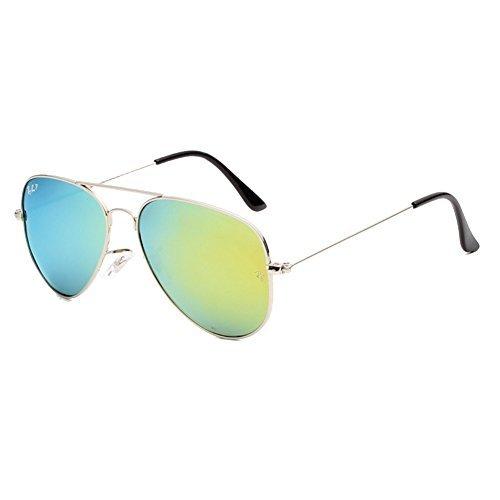 IPOLAR GSG800011C4 New Style Polaroid Sheet Polarizer AC Lens Retro Metal Frames - Chalet Sport Sunglasses