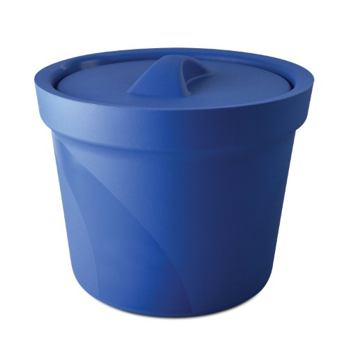 Bel-Art M16807-4001 Magic Touch 2 High Performance Blue Ice Bucket; 4.0 Liter, With Lid ()