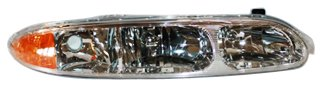 TYC 20-5673-00 Oldsmobile Alero Passenger Side Headlight Assembly