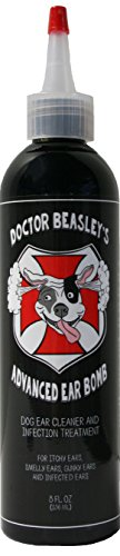 DOCTOR BEASLEY'S ADVANCED EAR BOMB Is a Powerful 1 Step Cleaning Solution Treatment for Dog Ear Infections; Cleaner Replaces Drops, Vet Visits, Medication, Antibiotics for Yeast and Fungus, 8 ounce