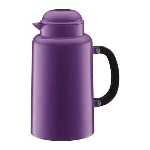 Bodum Chambord 34-Ounce Thermo Double Wall Vacuum Carafe, Purple, One Size (Coffee Bodum Vacuum)