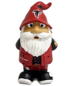 Forever 884966935909 8 in. Atlanta Falcons Stumpy Garden Gnome