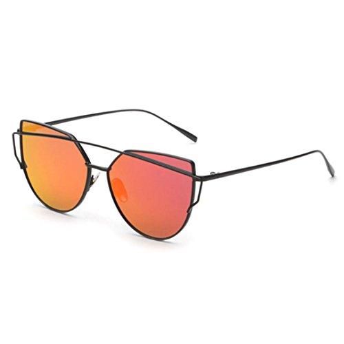 5cc059072a Sunday Gafas de sol Polarizadas Vidrios Metálico Marco de las Mujeres Ojo  De Gato Moda Vintage
