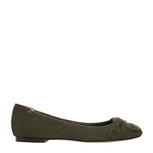 Drew2 - Kid Suede Loafers Loden