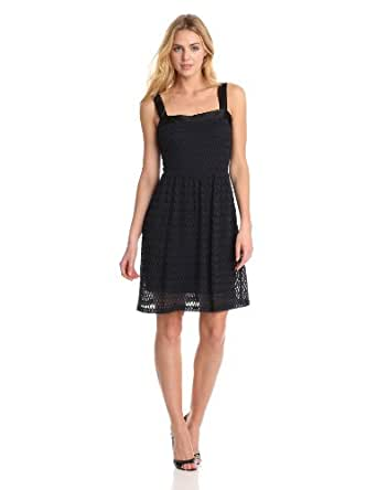Amy Matto Women's Ashley, Navy/Black, X-Small