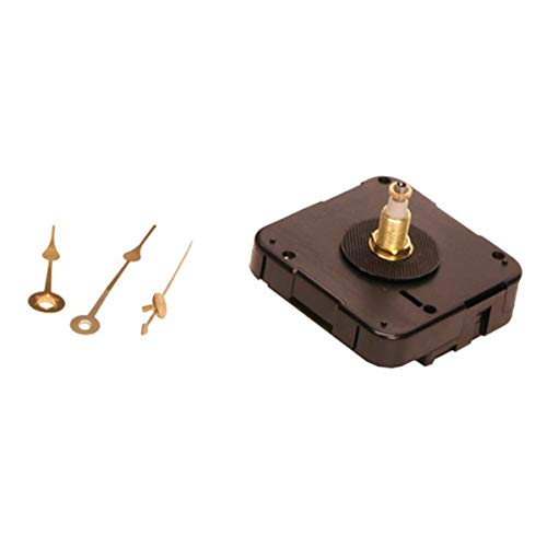 Walnut Hollow Quartz Clock Movement, for 3/4-Inch Surfaces ()