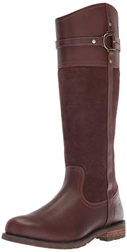 Ariat Women's Loxley H2O Western Boot, Chocolate, 6 B US