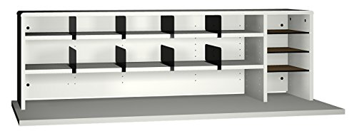 Ironwood High Capacity Desk Top Organizer, Grey (DTOHCGG) by Ironwood