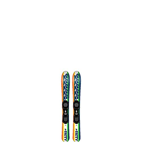K2 Fatty Rocker Skiboards Snowblades 88cm with Ski Boot Bindings 2019