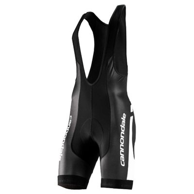 Cannondale Men's Elite Bib Short, Black/White, X-Large