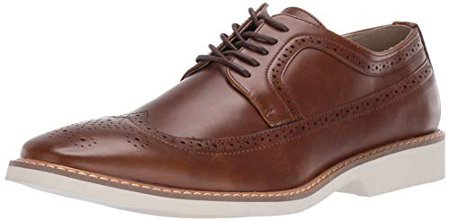 Unlisted by Kenneth Cole Men's Jeston Lace Up B Oxford, Cognac, 9.5 M US