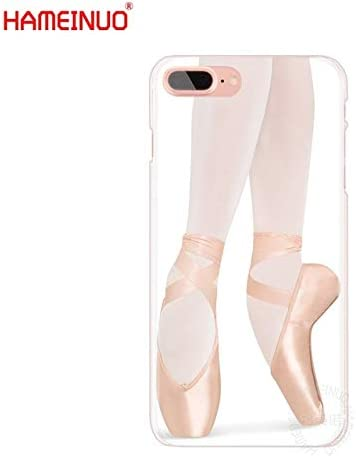 MISC White Beige Ballerina Girl iPhone 6 Case Dancing Themed 6S Cover Ballet Slippers Italian Classical Pointe Shoes Dance Plastic