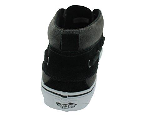 Vans Unisexs VANS CHUKKA BOOT (SUEDE) SKATE SHOES (PEWTER/BLACK) Grey oytotM0h