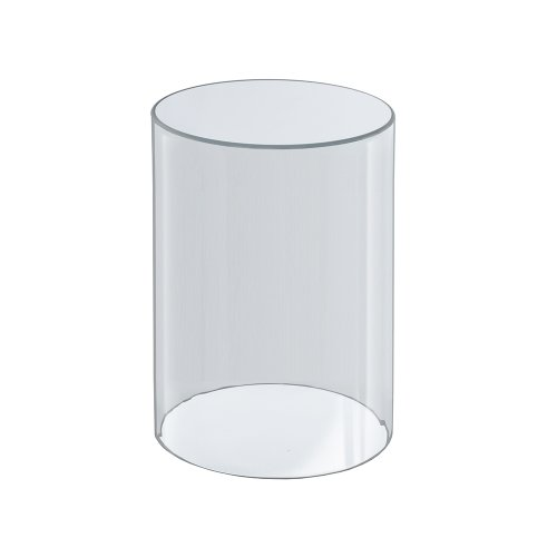 Azar Displays 556610 6-Inch W by 10-Inch H Clear Acrylic Cylinder ()