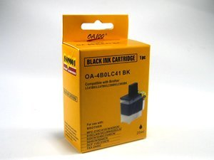 Compatible Brother LC41BK (LC-41BK) Black Ink Cartridge - Intellifax 1840, 2440, MFC-3240, 210, 420, 5440, 5840, 620