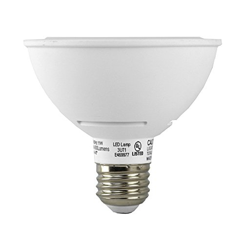 Euri Lighting EP30-2020ews LED PAR30 Short Neck Bulb, MCOB Line, Warm White 2700K, Dim, 11W (75W Equivalent) 800 lm 40 Degree Beam Angle, 90+ CRI, Med. Base (E26), UL & Energy Star Listed