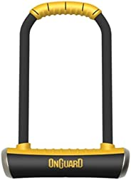 Onguard Brute LS-8000 Keyed Shackle Lock - Black, 11.5x26.0 cm