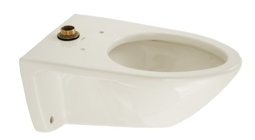 TOTO CT708E#01 Flushometer Elongated Bowl With 1.28 Gallon Flushing System, Cotton White