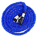 Adaptable Irrigate Hosepipe - Size 100ft Flexible Expandable Garden Water Hose Standard - Stretched Diaphoresi Weewee Yielding Body Elastic Urine Double-Jointed Lachrymal - 1PCs