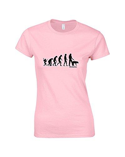 Rinsed - Camisas - Manga corta - para mujer Rosa