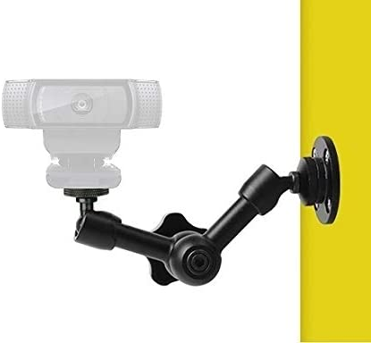 Webcam Wall Mount - 7'' Articulating Magic Arm Stand for Logitec C925e,C922x,C922,C930e,C930,C920,C615,Brio 4K 31eG-veRppL
