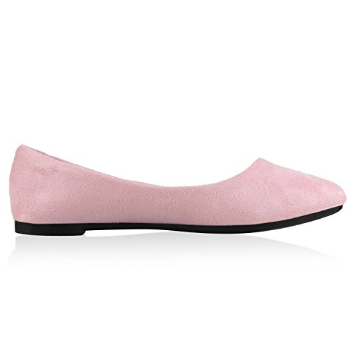 napoli-fashion - Bailarinas Mujer Rosa