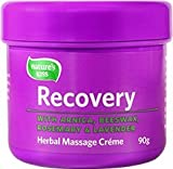 Nature's Kiss Recovery Herbal Massage Cream Contains 15% Arnica - 3oz Tub (90g)