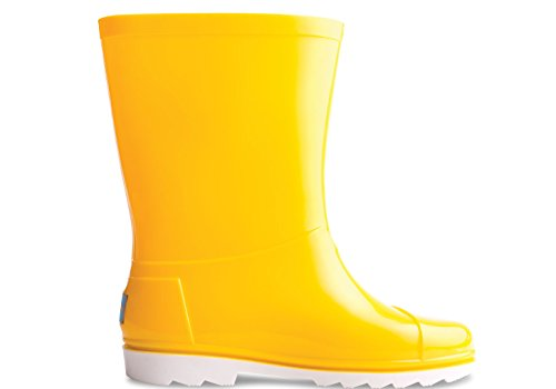 Toms Rain Boots Yellow PVC 10006289 Youth 5