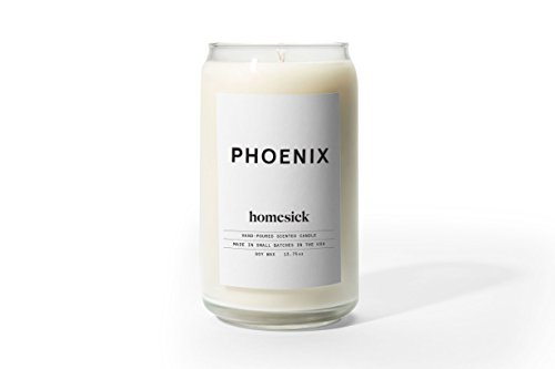 Lime Blossom Soy Wax Candle - Homesick Scented Candle, Phoenix