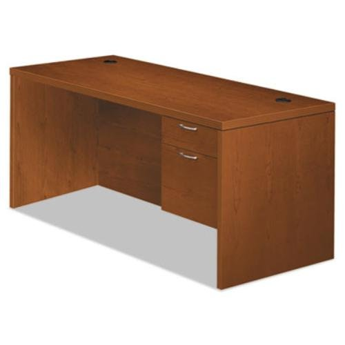 "HON 11583RACHH Valido 11500 Series Right Pedestal Desk, 66"" by 30"" by 29.5"", Bourbon Cherry"