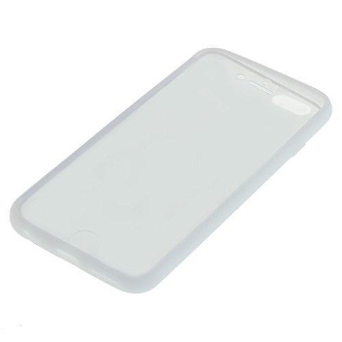 Handy Tasche Hülle für Apple iPhone 6 / Schutzhülle Handytasche Case mit Deckel clear