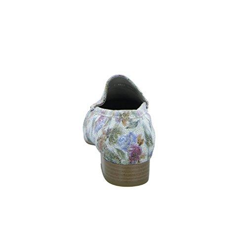 Extra Weite Jenny Damen G multi weiss Atlanta Slipper Komfort 22 12 60137 Ara Weit Halbschuh FqSyr1qT