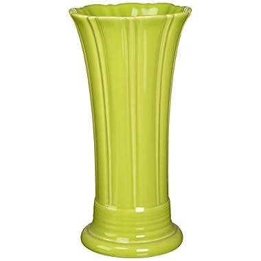 Fiesta 9-5/8-Inch Medium Vase, Lemongrass