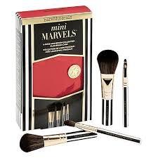 bareMinerals Mini Marvels 4pc Mini Brush Collection w/ Brush Case