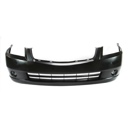 CarPartsDepot, 2.5L 3.5L Front Bumper Cover Raw Plastic Matte Black Unpainted Replacement, 352-36181-10-BK NI1000219 62022ZB000? (Nissan Altima 2005 Bumper Cover compare prices)