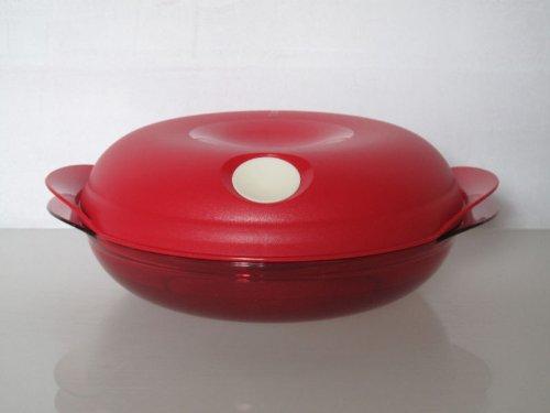 Tupperware Microondas de Fix 700 ml rojo redondo I50 Micro Micro onda Micro 30893