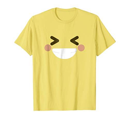 Grinning Squinting Face Shirt - Emoji Halloween -