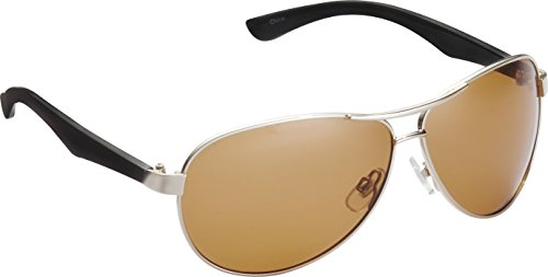(Fisherman Eyewear Siesta Sunglasses, Shiny Silver Frame)