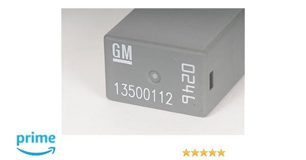 ACDelco D1777C GM Original Equipment Black Multi-Purpose Relay