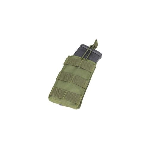 Single M16 (Single M4/M16 Open Top Mag Pouch Color- OD Green)