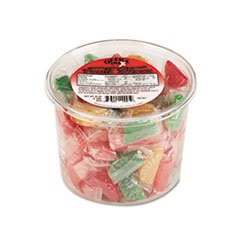 Wrapped Slices Individually (- Assorted Fruit Slices Candy, Individually Wrapped, 2 lb Plastic Tub)