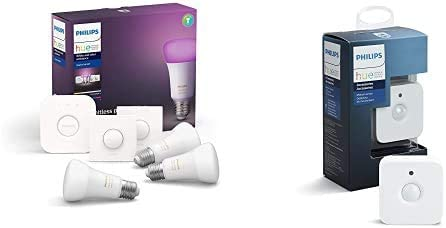 Philips Hue White and Color Ambiance Pack de 3 Bombillas LED ...