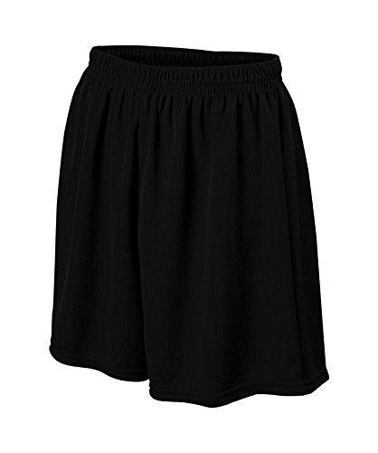 Augusta Sportswear BOYS' WICKING MESH SOCCER SHORT XS Black