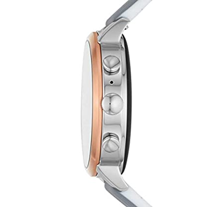 Fossil Damen Digital Smart Watch Armbanduhr mit Silikon Armband FTW6016 3