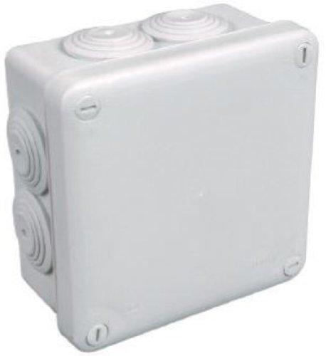 Legrand LEG94520 - Caja de derivació n cuadrada (cierre de 1/4 de vuelta, 105 x 105 x 55 mm), color blanco