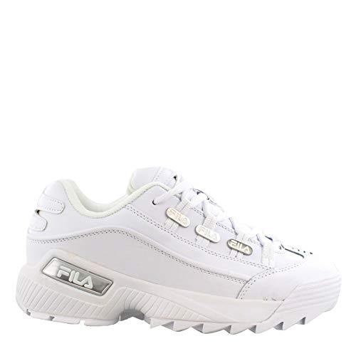 Fila White Sneakers (Fila Women's, Hometown Sneakers White 8 M)