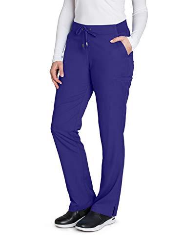Grey's Anatomy 4277 Straight Leg Pant Purple Rain M (Rain Pants For Woman)