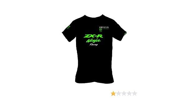 Kawasaki - Camiseta - para hombre negro negro S: Amazon.es: Ropa y accesorios
